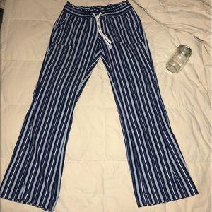 Roxy Striped Beach Pants